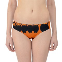 Happy Halloween - owls Hipster Bikini Bottoms