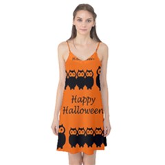 Happy Halloween - owls Camis Nightgown