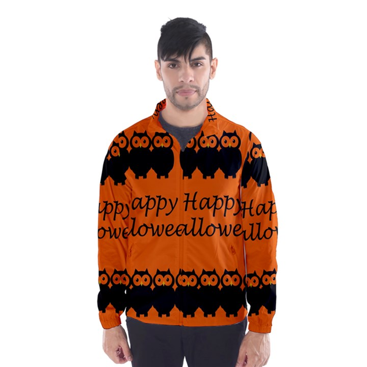 Happy Halloween - owls Wind Breaker (Men)