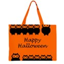 Happy Halloween - owls Large Tote Bag View1