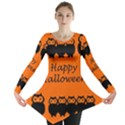Happy Halloween - owls Long Sleeve Tunic  View1