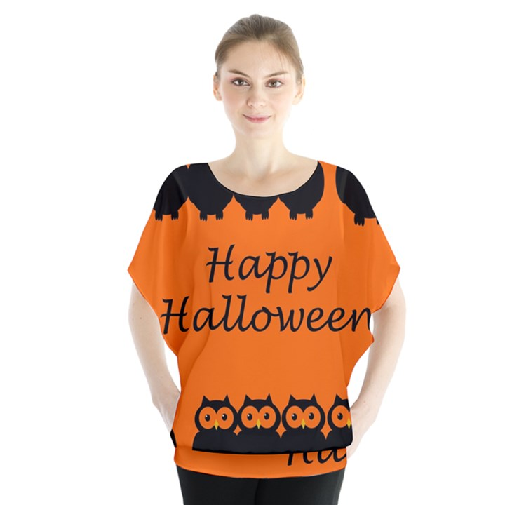 Happy Halloween - owls Blouse
