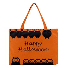 Happy Halloween   Owls Medium Tote Bag