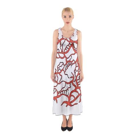 Twenty One Pilots Tear In My Heart Soysauce Remix Sleeveless Maxi Dress