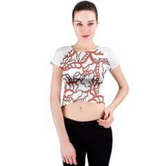 Twenty One Pilots Tear In My Heart Soysauce Remix Crew Neck Crop Top