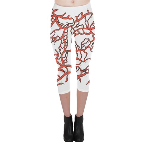 Twenty One Pilots Tear In My Heart Soysauce Remix Capri Leggings
