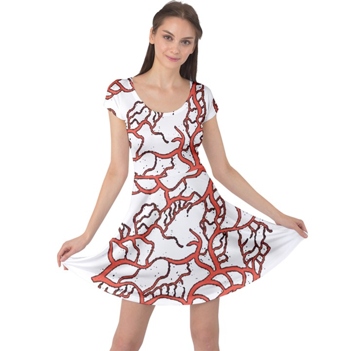 Twenty One Pilots Tear In My Heart Soysauce Remix Cap Sleeve Dresses