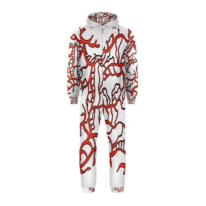 Twenty One Pilots Tear In My Heart Soysauce Remix Hooded Jumpsuit (Kids)