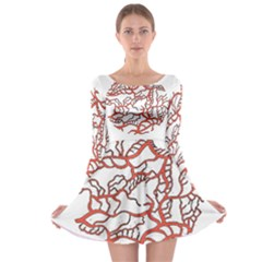 Twenty One Pilots Tear In My Heart Soysauce Remix Long Sleeve Skater Dress