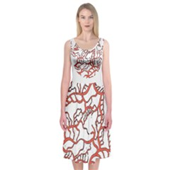 Twenty One Pilots Tear In My Heart Soysauce Remix Midi Sleeveless Dress