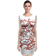 Twenty One Pilots Tear In My Heart Soysauce Remix Classic Sleeveless Midi Dress