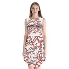 Twenty One Pilots Tear In My Heart Soysauce Remix Sleeveless Chiffon Dress