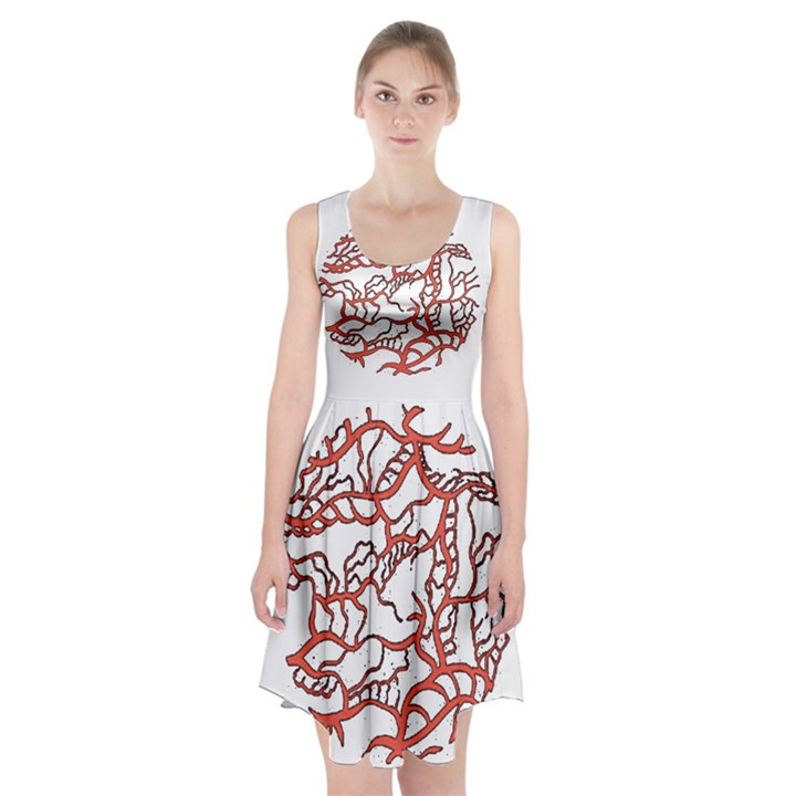 Twenty One Pilots Tear In My Heart Soysauce Remix Racerback Midi Dress
