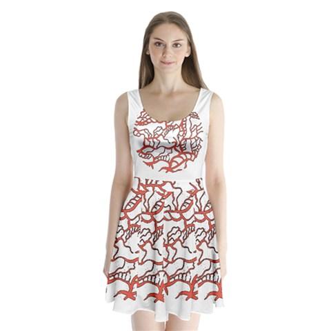 Twenty One Pilots Tear In My Heart Soysauce Remix Split Back Mini Dress
