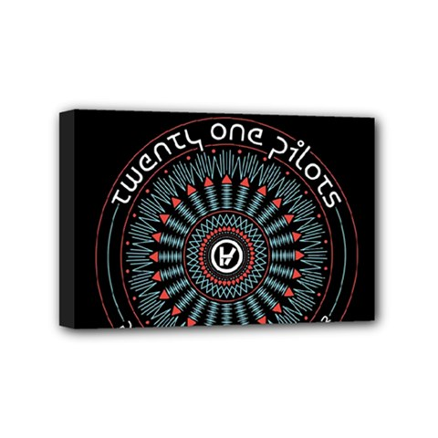 Twenty One Pilots Mini Canvas 6  x 4