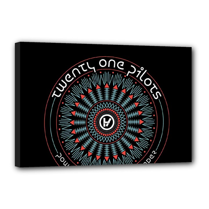 Twenty One Pilots Canvas 18  x 12