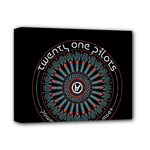 Twenty One Pilots Deluxe Canvas 14  x 11
