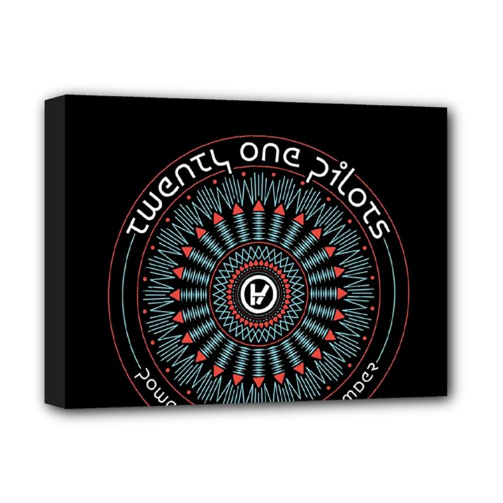 Twenty One Pilots Deluxe Canvas 16  x 12