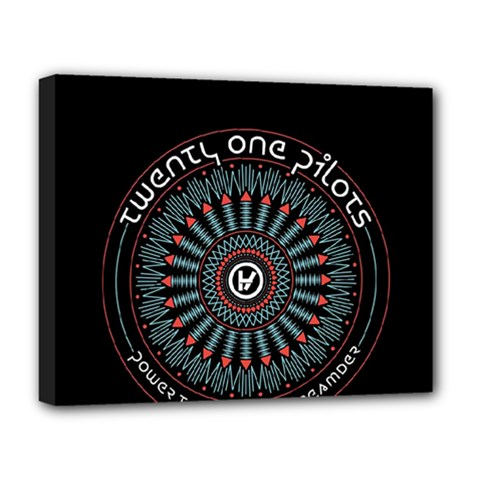 Twenty One Pilots Deluxe Canvas 20  x 16