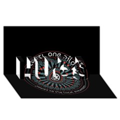 Twenty One Pilots Hugs 3d Greeting Card (8x4)