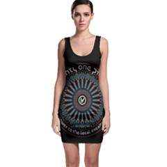 Twenty One Pilots Sleeveless Bodycon Dress