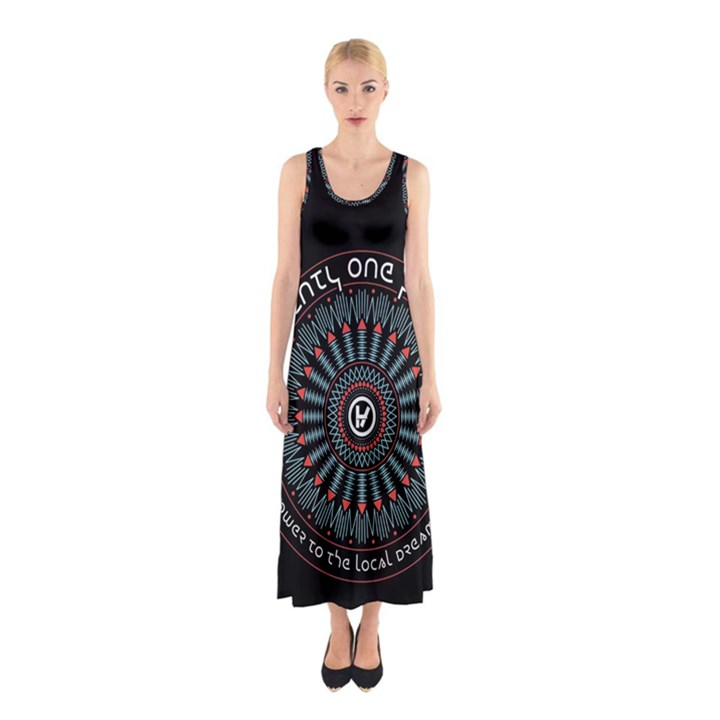 Twenty One Pilots Sleeveless Maxi Dress