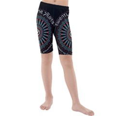 Twenty One Pilots Kids  Mid Length Swim Shorts