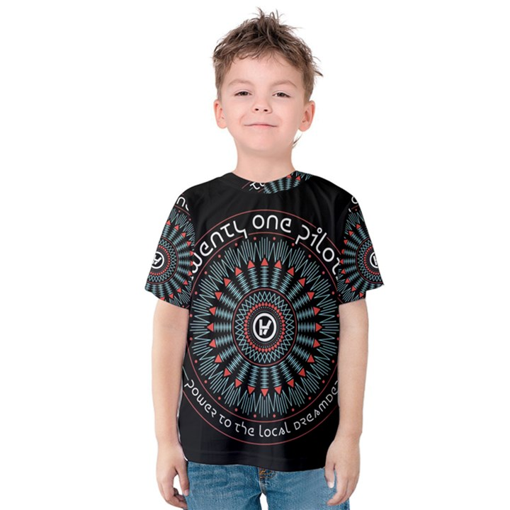 Twenty One Pilots Kids  Cotton Tee