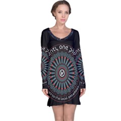 Twenty One Pilots Long Sleeve Nightdress