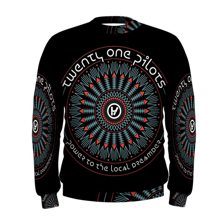 Twenty One Pilots Men s Sweatshirt