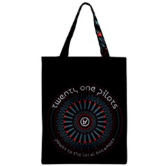Twenty One Pilots Zipper Classic Tote Bag