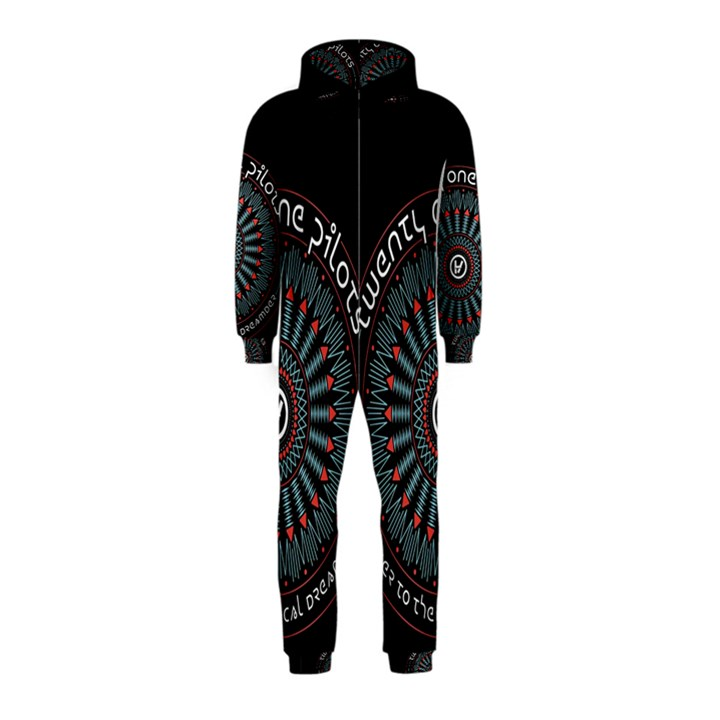 Twenty One Pilots Hooded Jumpsuit (Kids)
