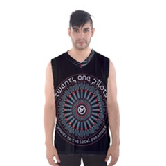 Twenty One Pilots Men s Basketball Tank Top