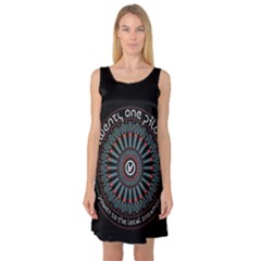 Twenty One Pilots Sleeveless Satin Nightdress