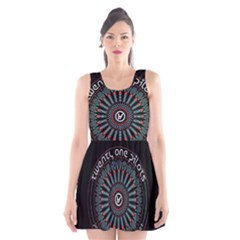Twenty One Pilots Scoop Neck Skater Dress