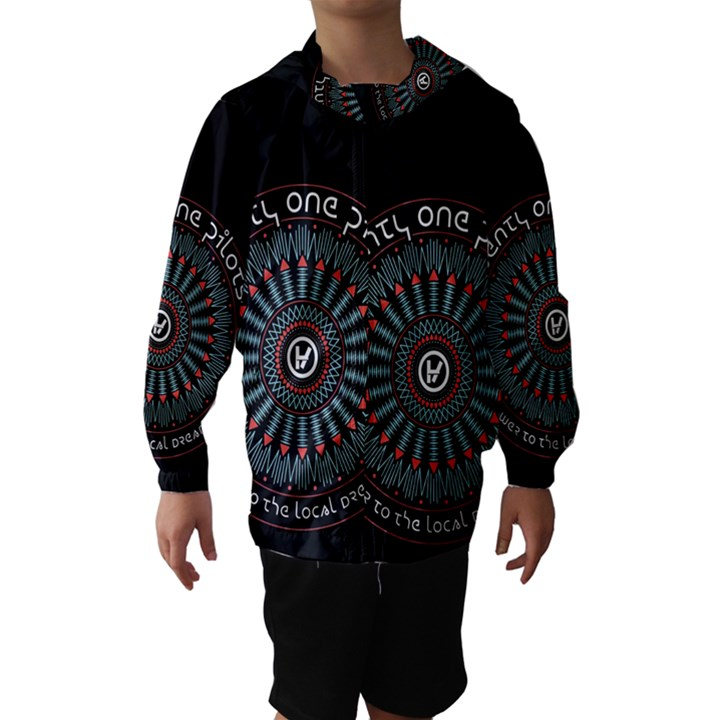 Twenty One Pilots Hooded Wind Breaker (Kids)