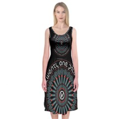 Twenty One Pilots Midi Sleeveless Dress