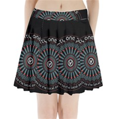Twenty One Pilots Pleated Mini Skirt