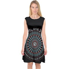 Twenty One Pilots Capsleeve Midi Dress