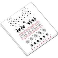 Ugly Christmas Humping Small Memo Pads