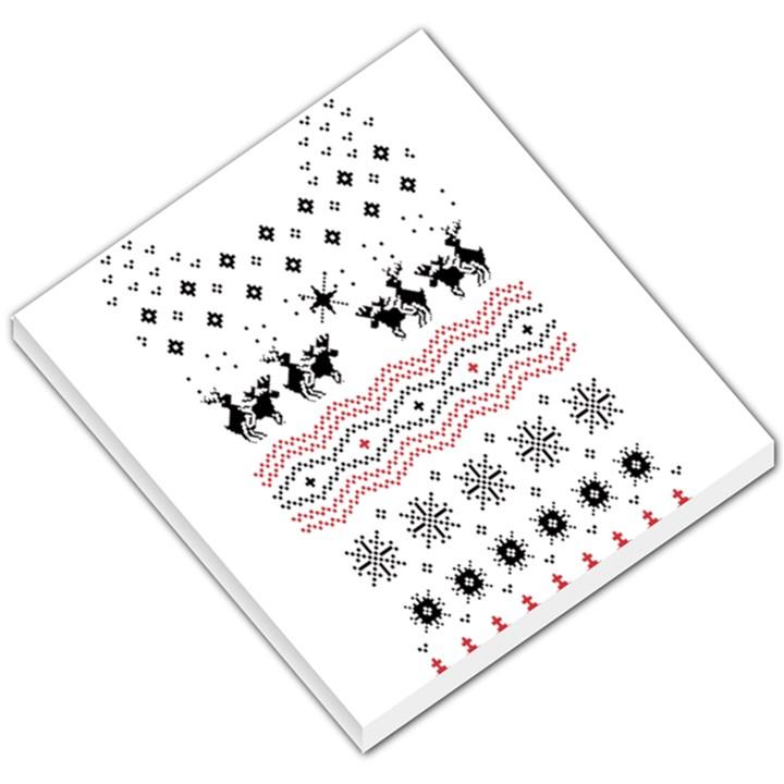 Ugly Christmas Humping Small Memo Pads