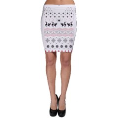 Ugly Christmas Humping Bodycon Skirt