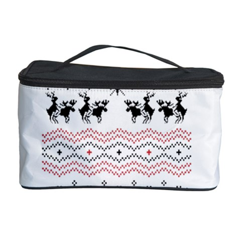 Ugly Christmas Humping Cosmetic Storage Case