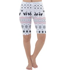 Ugly Christmas Humping Cropped Leggings