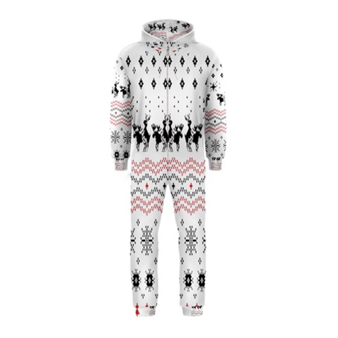 Ugly Christmas Humping Hooded Jumpsuit (Kids)