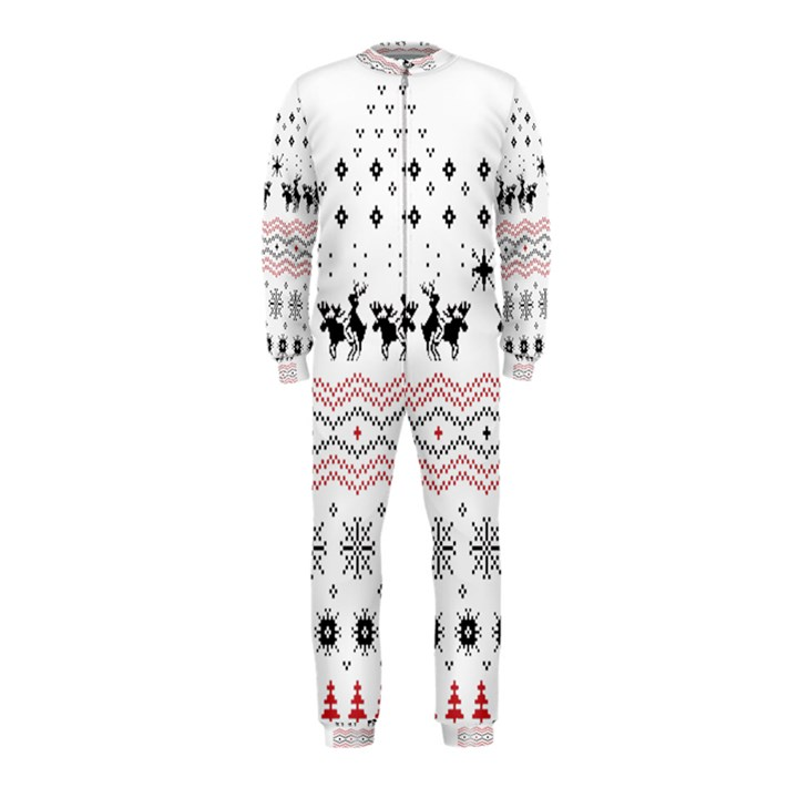 Ugly Christmas Humping OnePiece Jumpsuit (Kids)