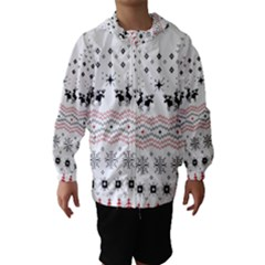 Ugly Christmas Humping Hooded Wind Breaker (Kids)