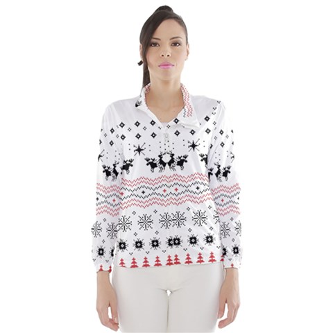 Ugly Christmas Humping Wind Breaker (Women)