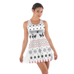 Ugly Christmas Humping Cotton Racerback Dress
