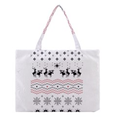 Ugly Christmas Humping Medium Tote Bag